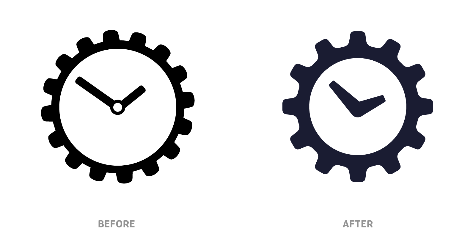 Steamclock Logo Comparison